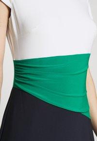 Lauren Ralph Lauren - CLASSIC TONE DRESS - Shift dress - navy/malachite - 4