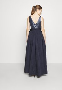 Lauren Ralph Lauren - MEMORY LONG GOWN COMBO - Galajurk - lighthouse navy - 2