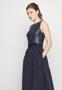 Lauren Ralph Lauren - MEMORY LONG GOWN COMBO - Galajurk - lighthouse navy - 5