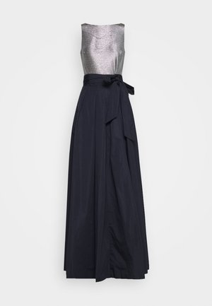 MEMORY TAFFETA LONG GOWN COMBO - Abito da sera - lighthouse navy