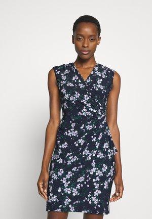 MATTE DRESS - Vestido de tubo - dark blue/lilac