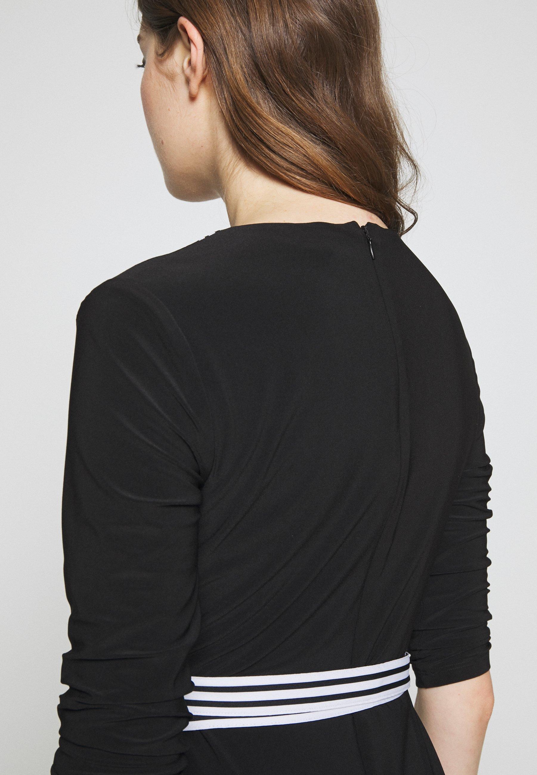 Lauren Ralph Mid Weight Dress - Jerseykjole Black