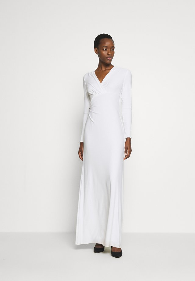 CLASSIC GOWN - Occasion wear - lauren white