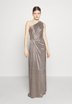 IONIC LONG GOWN - Vestido de fiesta - antique bronze