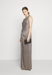 Lauren Ralph Lauren - IONIC LONG GOWN - Galajurk - antique bronze - 1
