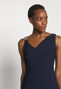 Lauren Ralph Lauren - BONDED DRESS TRIM - Cocktail dress / Party dress - lighthouse navy - 4