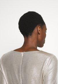 Lauren Ralph Lauren - DRESS - Vestito elegante - champagne/silver - 4