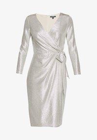 Lauren Ralph Lauren - DRESS - Vestito elegante - champagne/silver - 5