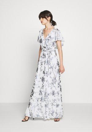 FOIL LONG GOWN - Festklänning - white/silver-coloured