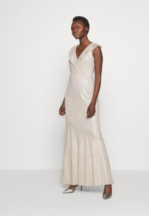 TULIP LONG GOWN - Occasion wear - sparkling champagne