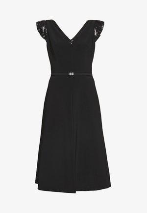 BONDED DRESS - Jerseyjurk - black