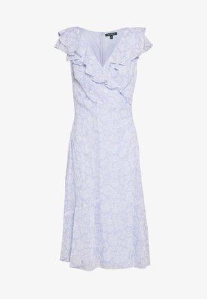 PRINTED GEORGETTE DRESS - Vestito estivo - whisper blue/colo