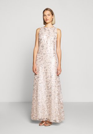 ASTOR LONG GOWN - Vestido de fiesta - belle rose/silver