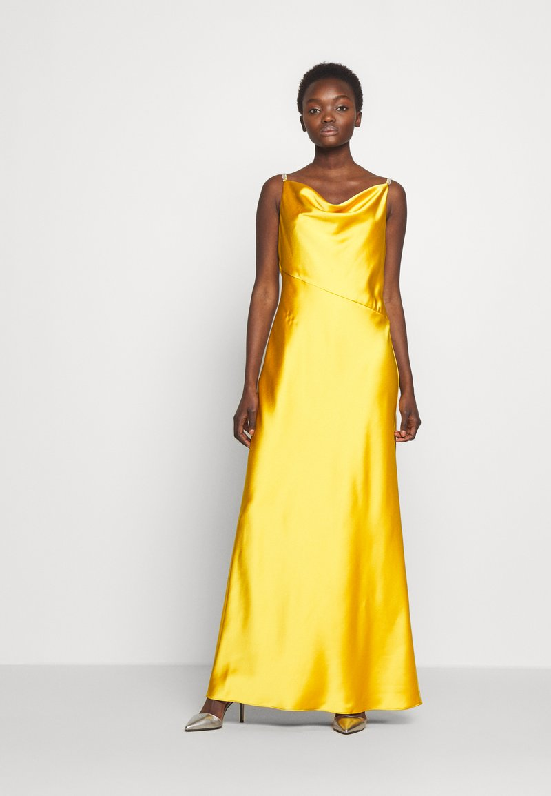 Lauren Ralph Lauren - LONG GOWN - Occasion wear - true marigold