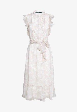 CRINKLE DRESS - Shirt dress - mascarpone cream