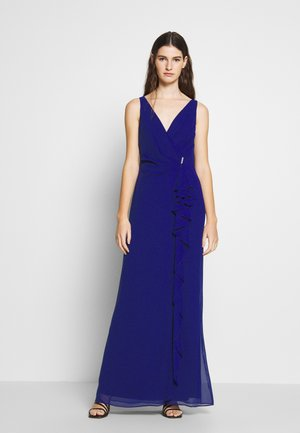 GRACEFUL LONG GOWN - Iltapuku - cannes blue