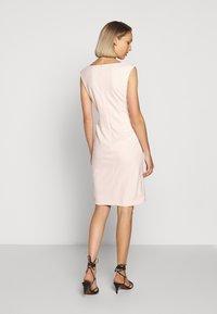 Lauren Ralph Lauren - LUXE TECH DRESS - Shift dress - belle rose - 2