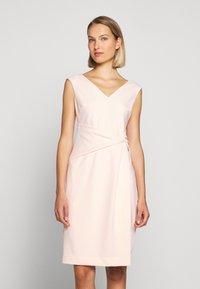 Lauren Ralph Lauren - LUXE TECH DRESS - Shift dress - belle rose - 0