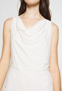 Lauren Ralph Lauren - ISABELLA LACE DRESS COMBO - Cocktailjurk - matte ivory - 4