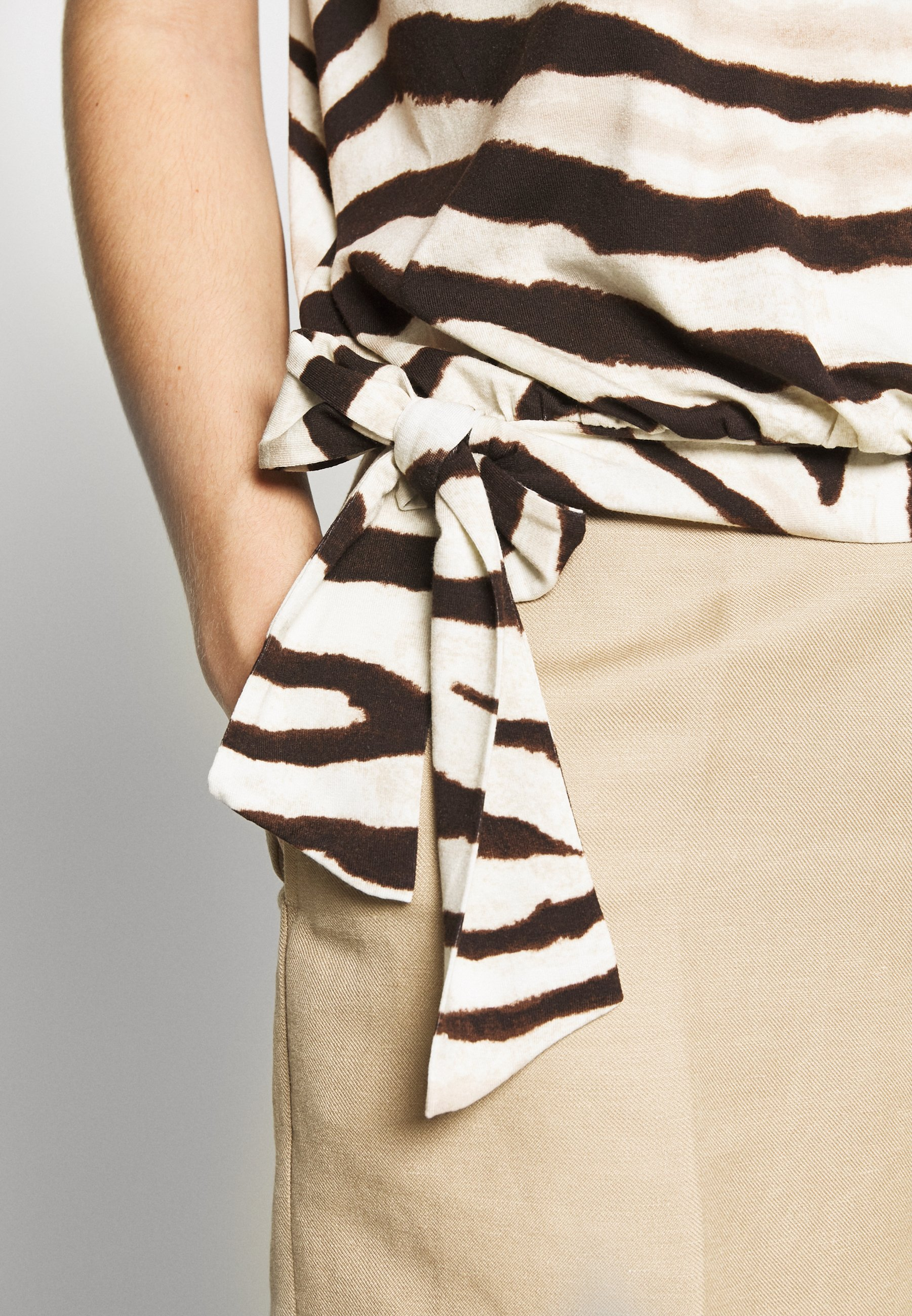 Lauren Ralph Lauren Topper - dark brown multi
