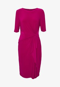 Lauren Ralph Lauren - MID WEIGHT DRESS - Vardagsklänning - bright fuchsia - 5