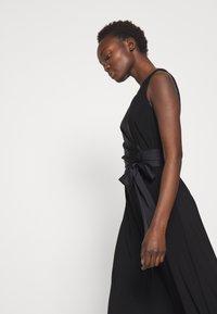 Lauren Ralph Lauren - MID WEIGHT DRESS COMBO - Cocktailjurk - black - 5