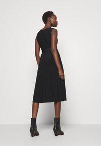 Lauren Ralph Lauren - MID WEIGHT DRESS COMBO - Cocktailjurk - black - 0