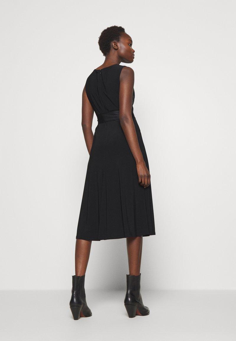 Lauren Ralph Lauren - MID WEIGHT DRESS COMBO - Cocktailjurk - black