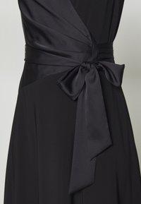 Lauren Ralph Lauren - MID WEIGHT DRESS COMBO - Cocktailjurk - black - 7