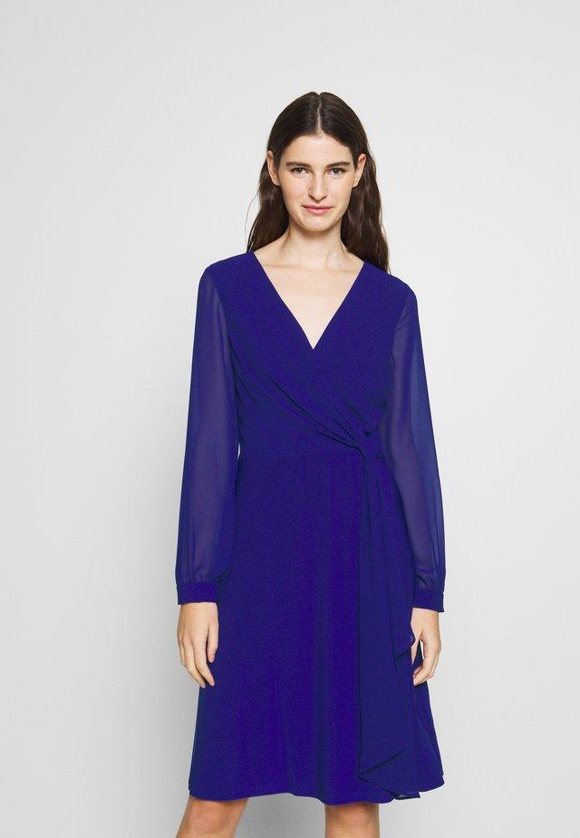 MID WEIGHT DRESS COMBO - Freizeitkleid - cannes blue