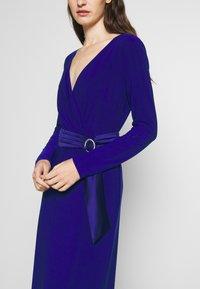 Lauren Ralph Lauren - CLASSIC LONG GOWN - Galajurk - cannes blue - 4