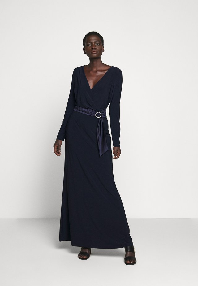 CLASSIC LONG GOWN - Iltapuku - lighthouse navy