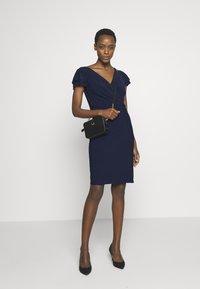 Lauren Ralph Lauren - MID WEIGHT DRESS - Žerzejové šaty - lighthouse navy - 1
