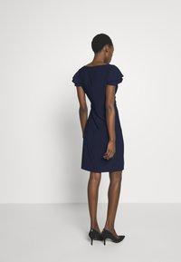 Lauren Ralph Lauren - MID WEIGHT DRESS - Žerzejové šaty - lighthouse navy - 2