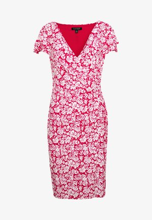 MATTE DRESS - Vestito di maglina - berry sorbet