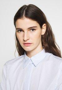 Lauren Ralph Lauren - BROADCLOTH DRESS - Košilové šaty - blue/white - 3