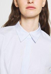 Lauren Ralph Lauren - BROADCLOTH DRESS - Košilové šaty - blue/white - 5