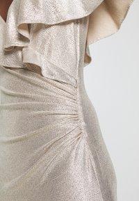Lauren Ralph Lauren - LONG GOWN - Occasion wear - champagne/silver - 7