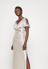 Lauren Ralph Lauren - LONG GOWN - Occasion wear - champagne/silver - 4