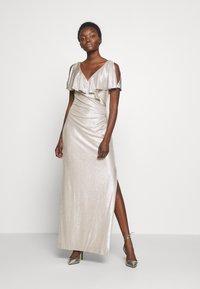Lauren Ralph Lauren - LONG GOWN - Occasion wear - champagne/silver - 2