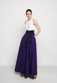 Lauren Ralph Lauren - MEMORY TAFFETA LONG GOWN - Vestido de fiesta - cannes blue - 1