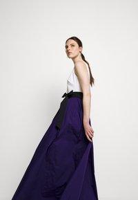 Lauren Ralph Lauren - MEMORY TAFFETA LONG GOWN - Vestido de fiesta - cannes blue - 4