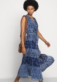 Lauren Ralph Lauren - CRINKLE DRESS - Day dress - blue/multi - 5