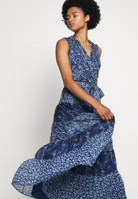 Lauren Ralph Lauren - CRINKLE DRESS - Day dress - blue/multi - 3