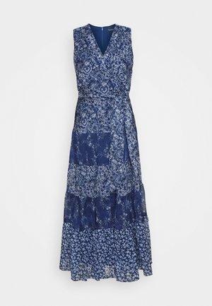 CRINKLE DRESS - Day dress - blue/multi