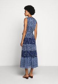 Lauren Ralph Lauren - CRINKLE DRESS - Day dress - blue/multi - 2