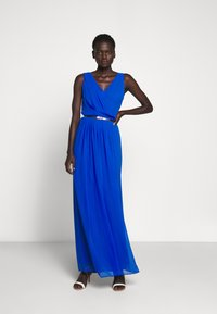 Lauren Ralph Lauren - GRACEFUL LONG GOWN - Iltapuku - portuguese blue