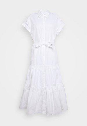 BROADCLOTH DRESS - Shirt dress - white