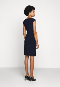 Lauren Ralph Lauren - MID WEIGHT DRESS - Shift dress - lighthouse navy - 2