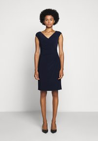 Lauren Ralph Lauren - MID WEIGHT DRESS - Shift dress - lighthouse navy - 0